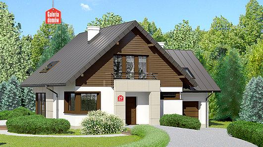 Projekt domu - Dom przy Cyprysowej 29