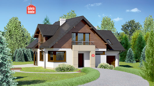 Projekt domu - Dom przy Cyprysowej 30
