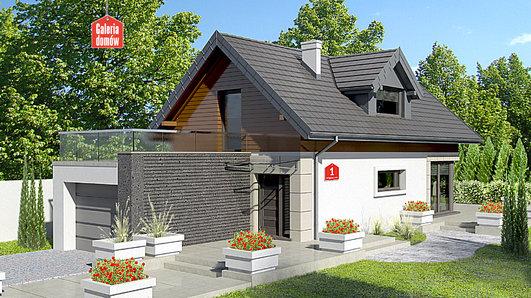 Projekt domu - Dom przy Migdałowej