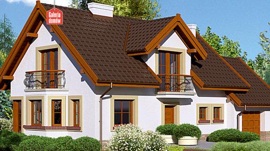 Projekt domu - Dom przy Modrzewiowej 11