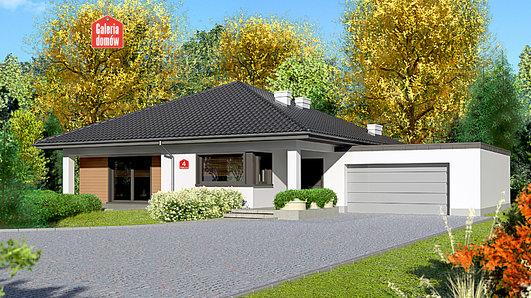 Projekt domu - Dom przy Makowej 4