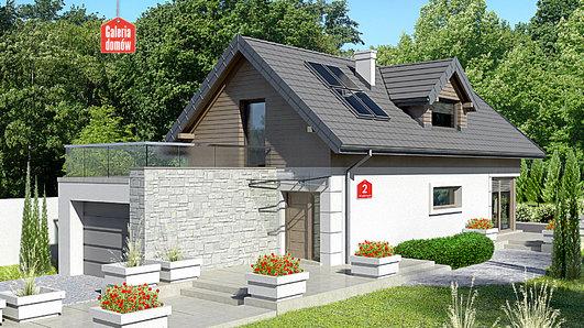 Projekt domu - Dom przy Migdałowej 2