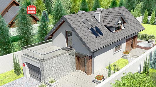 Projekt domu - Dom przy Migdałowej 3