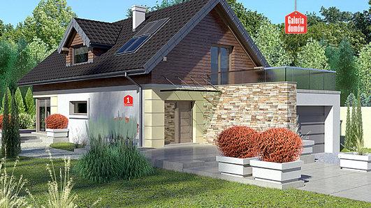 Projekt domu - Dom przy Kolorowej