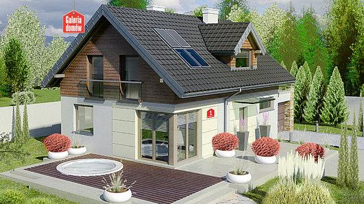Projekt domu - Dom przy Alabastrowej