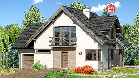 Projekt domu - Dom przy Cyprysowej 33