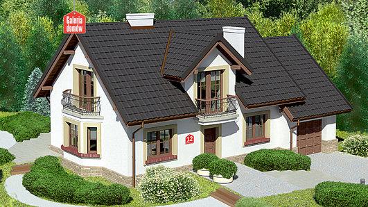 Projekt domu - Dom przy Modrzewiowej 12