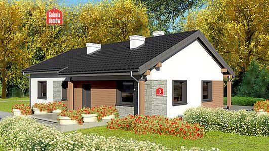 Projekt domu - Dom przy Bukowej 3