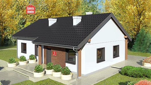 Projekt domu - Dom przy Bukowej 5