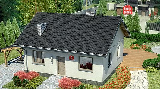 Projekt domu - Dom przy Topolowej 2