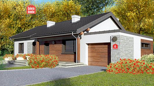 Projekt domu - Dom przy Bukowej 6
