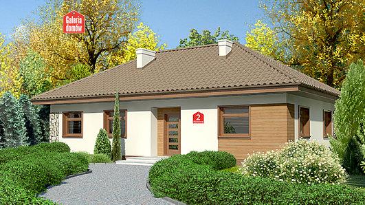 Projekt domu - Dom przy Klonowej 2