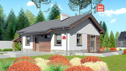 Projekt domu - Dom przy Przyjemnej