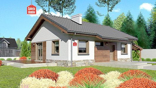 Projekt domu - Dom przy Przyjemnej 2