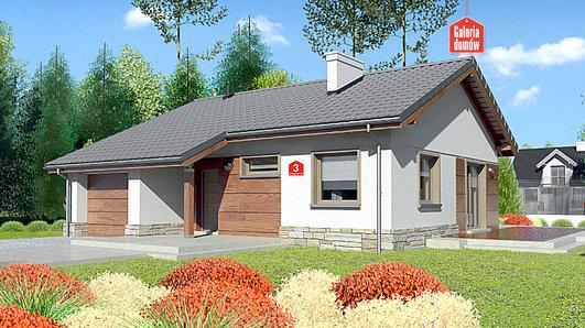 Projekt domu - Dom przy Przyjemnej 3