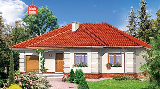 Projekt domu - Dom przy Altanowej