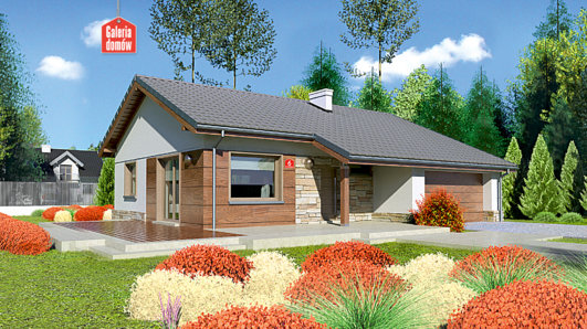 Projekt domu - Dom przy Przyjemnej 6
