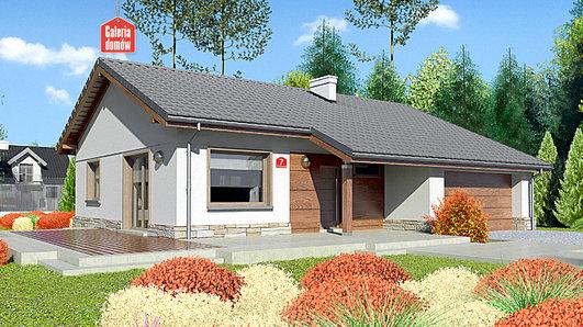 Projekt domu - Dom przy Przyjemnej 7