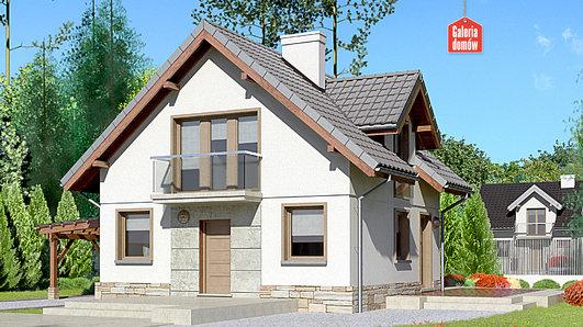 Projekt domu - Dom przy Cyprysowej 35