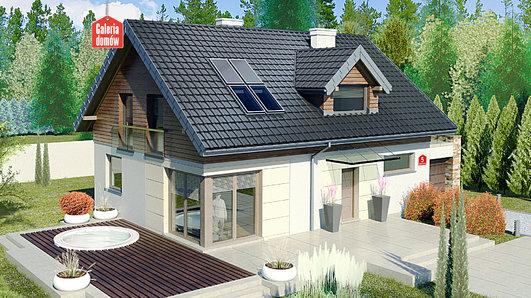 Projekt domu - Dom przy Alabastrowej 5
