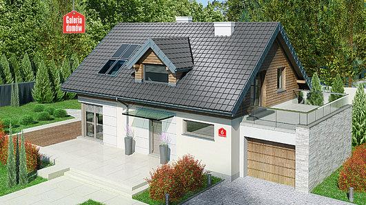 Projekt domu - Dom przy Alabastrowej 6
