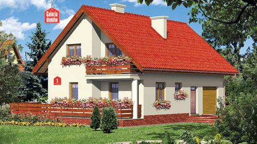 Projekt domu - Dom przy Platanowej