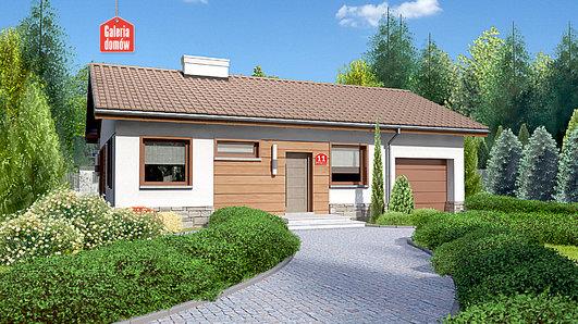 Projekt domu - Dom przy Przyjemnej 11