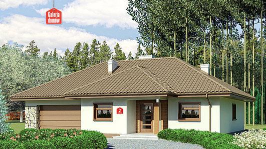 Projekt domu - Dom przy Sadowej 2