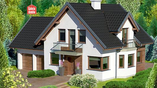 Projekt domu - Dom przy Przyjaznej 10