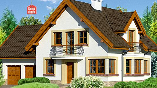 Projekt domu - Dom przy Przyjaznej 9