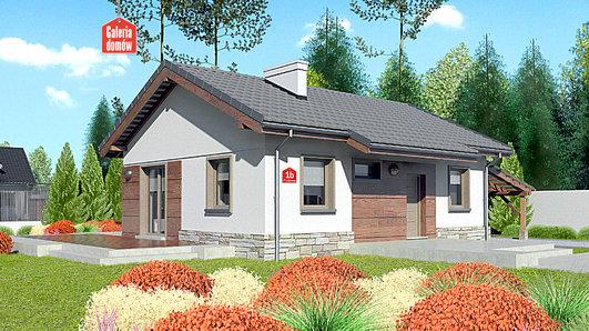 Projekt domu - Dom przy Przyjemnej bis
