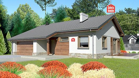 Projekt domu - Dom przy Przyjemnej 4 bis