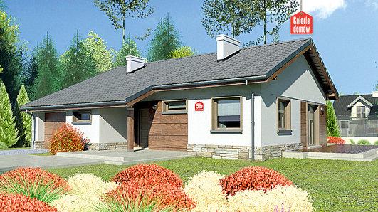 Projekt domu - Dom przy Przyjemnej 5 bis