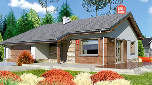Projekt domu - Dom przy Przyjemnej 6 bis