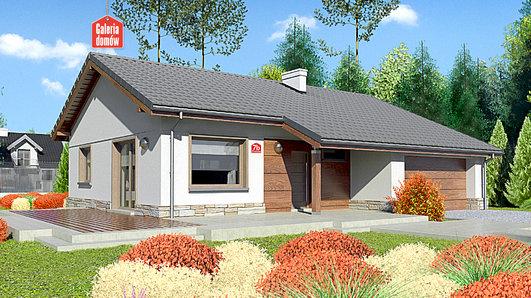 Projekt domu - Dom przy Przyjemnej 7 bis