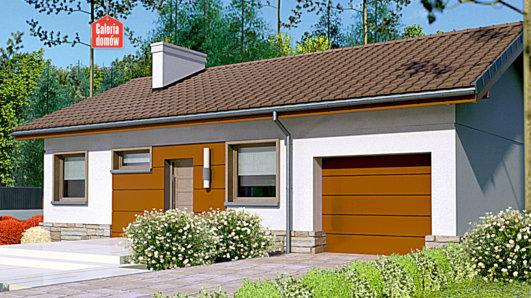Projekt domu - Dom przy Przyjemnej 8 bis
