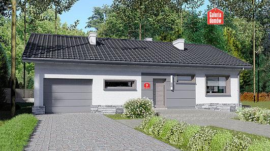 Projekt domu - Dom przy Przyjemnej 9 bis