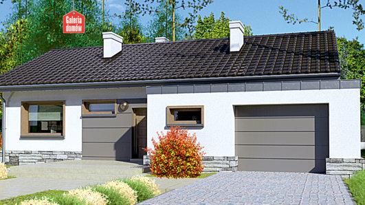 Projekt domu - Dom przy Przyjemnej 10 bis