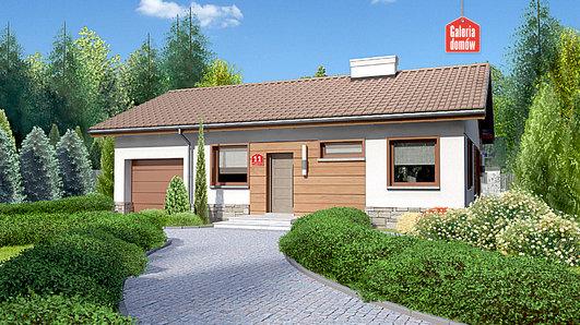 Projekt domu - Dom przy Przyjemnej 11 bis