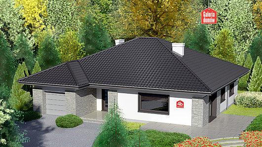 Projekt domu - Dom przy Słonecznej 4 bis