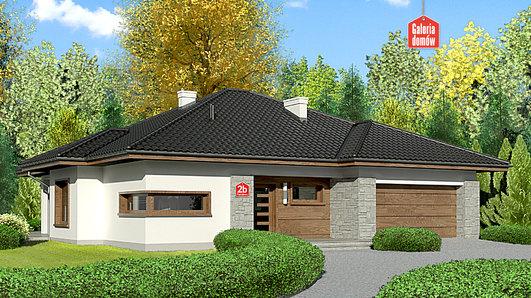 Projekt domu - Dom przy Pastelowej 2 bis