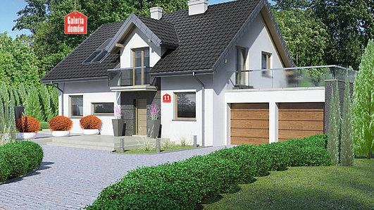 Projekt domu - Dom przy Alabastrowej 11