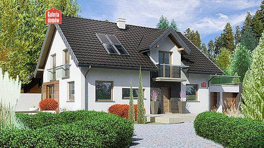 Projekt domu - Dom przy Alabastrowej 15