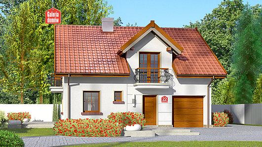 Projekt domu - Dom przy Alabastrowej 22