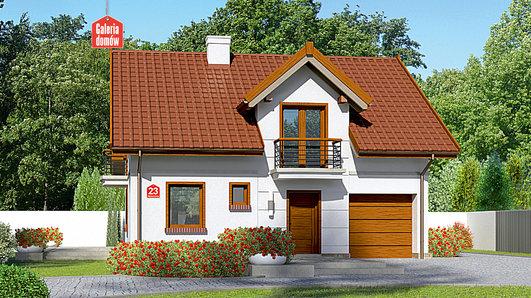 Projekt domu - Dom przy Alabastrowej 23
