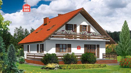 Projekt domu - Dom przy Cyprysowej