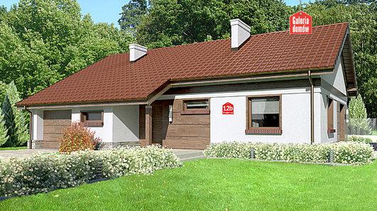 Projekt domu - Dom przy Przyjemnej 12 bis