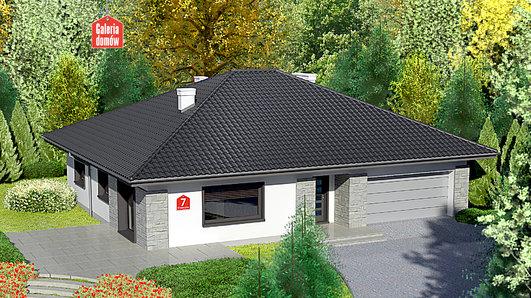 Projekt domu - Dom przy Słonecznej 7