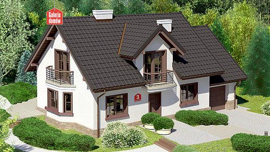 Projekt domu - Dom przy Modrzewiowej 3