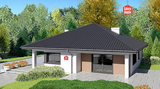 Projekt domu - Dom przy Makowej 3 bis